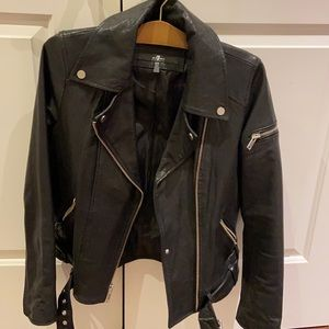 SALE!!!!! 7 For All Mankind Leather Jacket